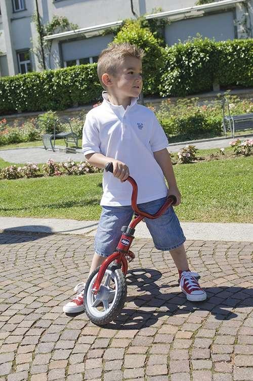 Benefici nell'utilizzo della prima bicicletta chicco