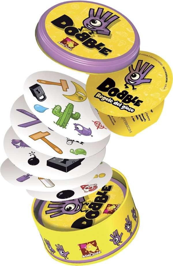 Descrizione di Dobble, il gioco di carte per bambini