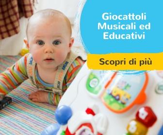 Giochi educativi e musicali per neonati