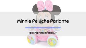 """Minnie Peluche Parlante """"Canta e Impara"""" – Clementoni"""