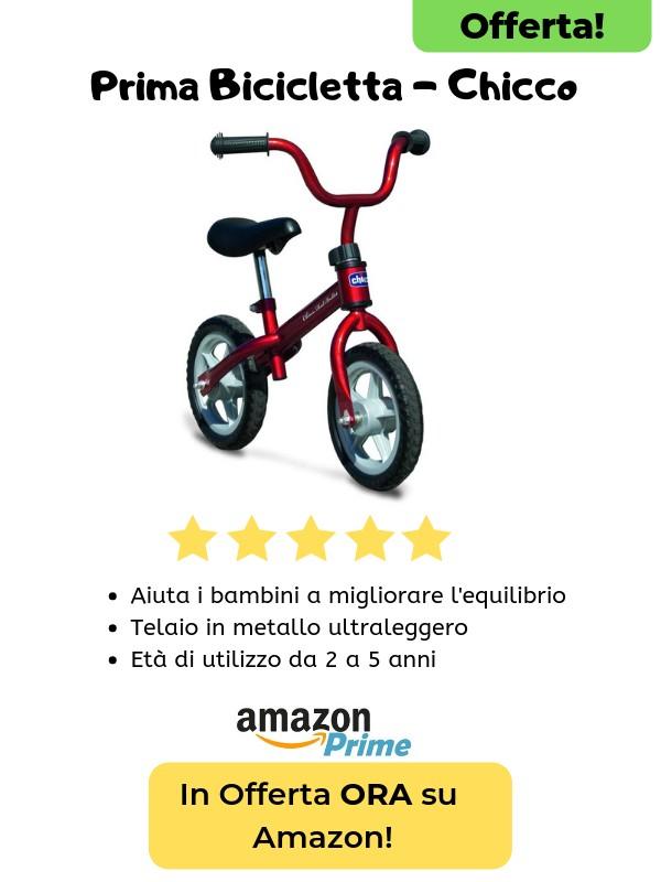 prima bicicletta della chicco