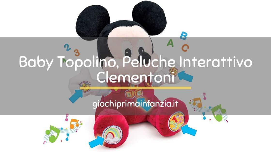 Baby Topolino, Peluche Interattivo Clementoni