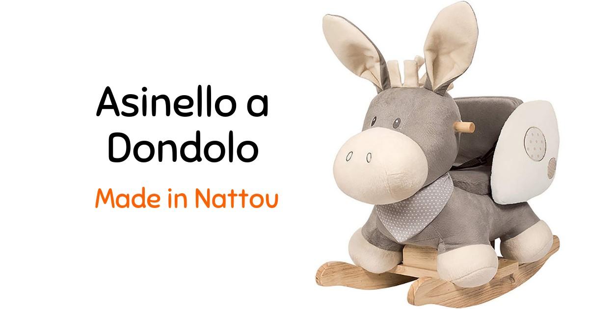 Asinello A Dondolo Nattou.Sedia A Dondolo Nattou A Forma Di Asino Giochi Prima Infanzia
