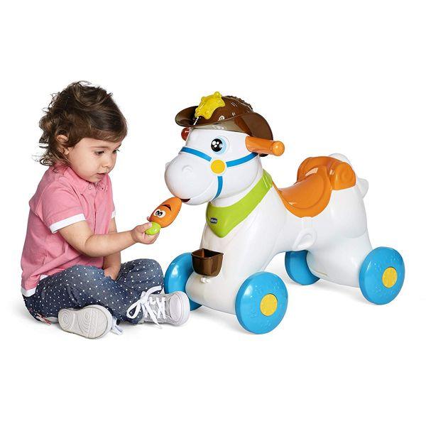 Cavallo A Dondolo Peg Perego.Chicco Baby Rodeo Cavallo A Dondolo Interattivo Giochi Prima