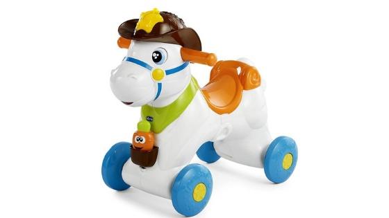 Chicco Baby Rodeo Cavallo A Dondolo Interattivo Giochi Prima Infanzia