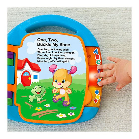 libro delle canzoncine della fisher price per neonati