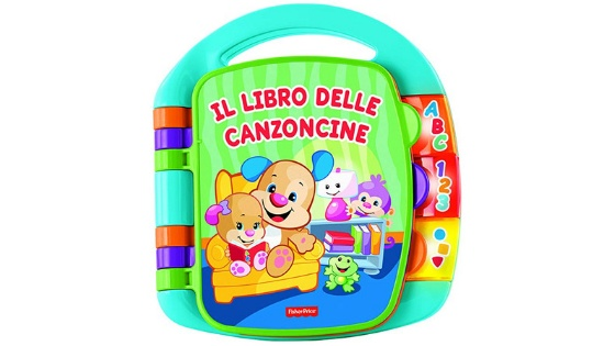 Libro delle Canzoncine by Fisher Price