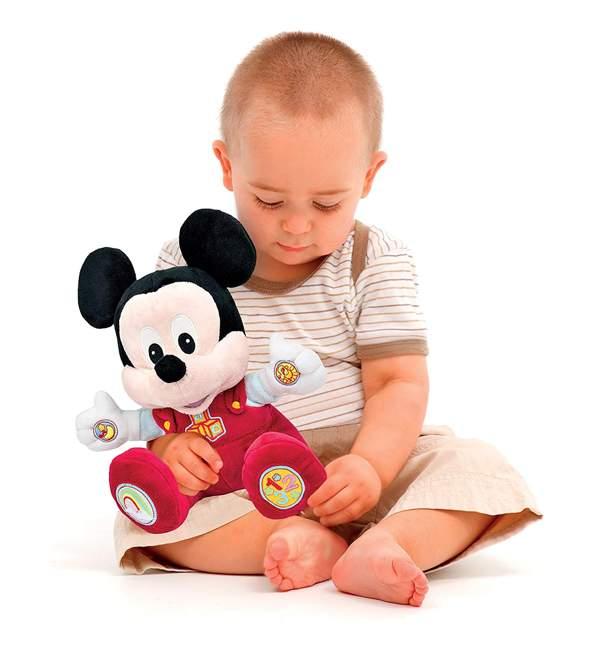 Benefici per il bambino di Baby Topolino: Peluche Clementoni per Neonati