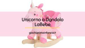 Cavallo a Dondolo a forma di Unicorno – labebe