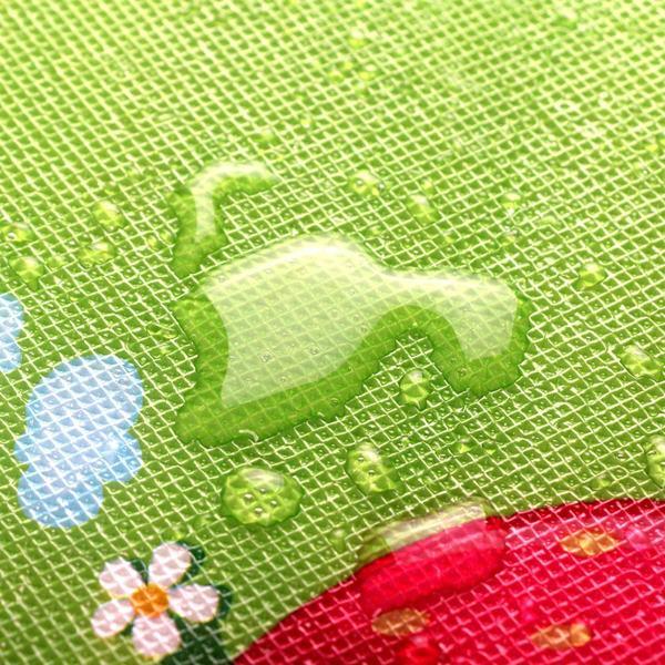 Le caratteristiche del tappeto gioco stillcool impermeabile, ripieghevole e double face