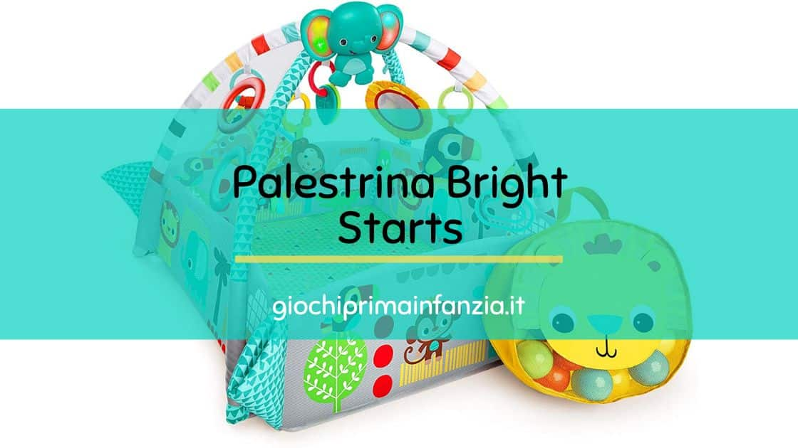 """Read more about the article Palestrina Multifunzione Bright Starts """"Your Way Ball Play"""""""