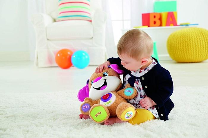 sorellina cagnolino: uno dei migliori peluche per bambine realizzato dalla fisher price