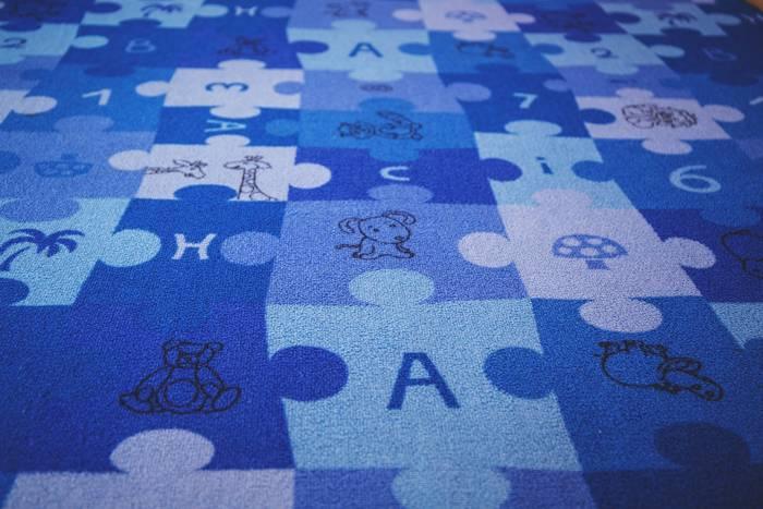 tappeto gioco puzzle