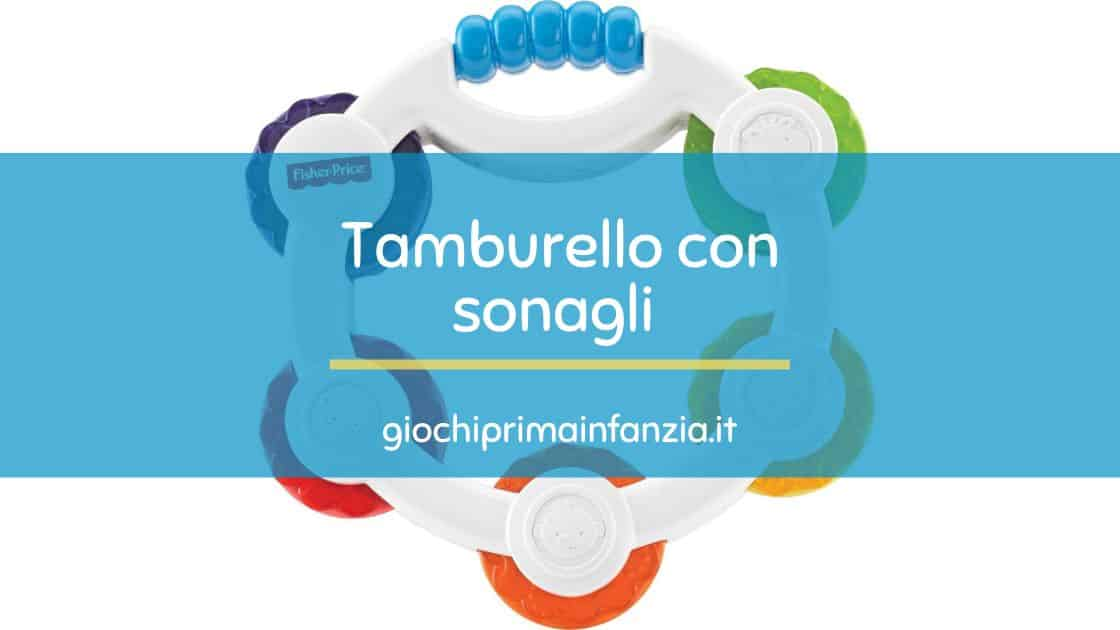 Tamburello con sonagli – Fisher Price