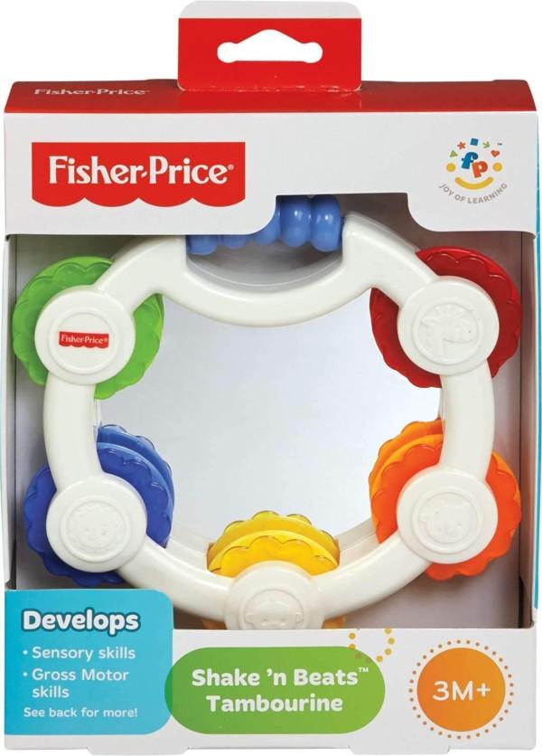 tamburello con sonagli della Fisher Price