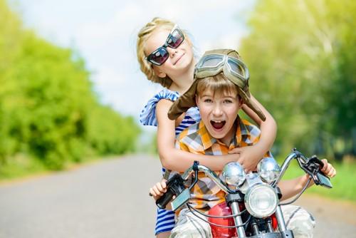 moto per bambini