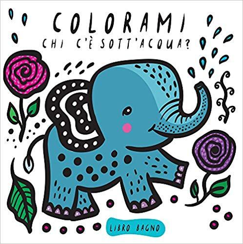Libro bagnetto da colorare