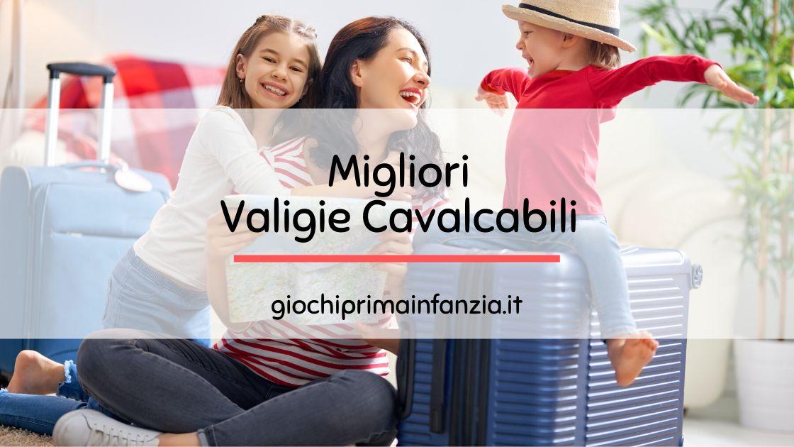 You are currently viewing Valigia Cavalcabile per Bambini: Guida alle Migliori Offerte
