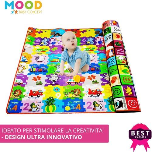 tappeto lavabile ed educativo per bambini