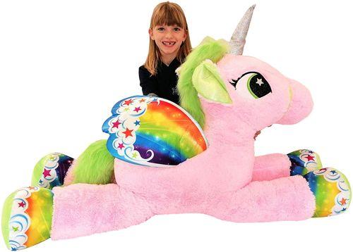 peluche gigante unicorno