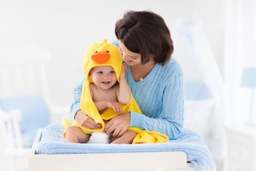 Come fare il bagnetto ad un neonato