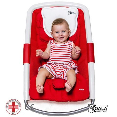 cuscino per neonato per plagiocefalia e testa piatta