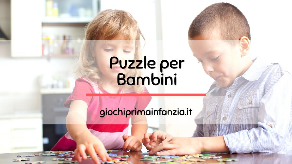 Puzzle per Bambini: Guida Completa con Offerte ed Opinioni