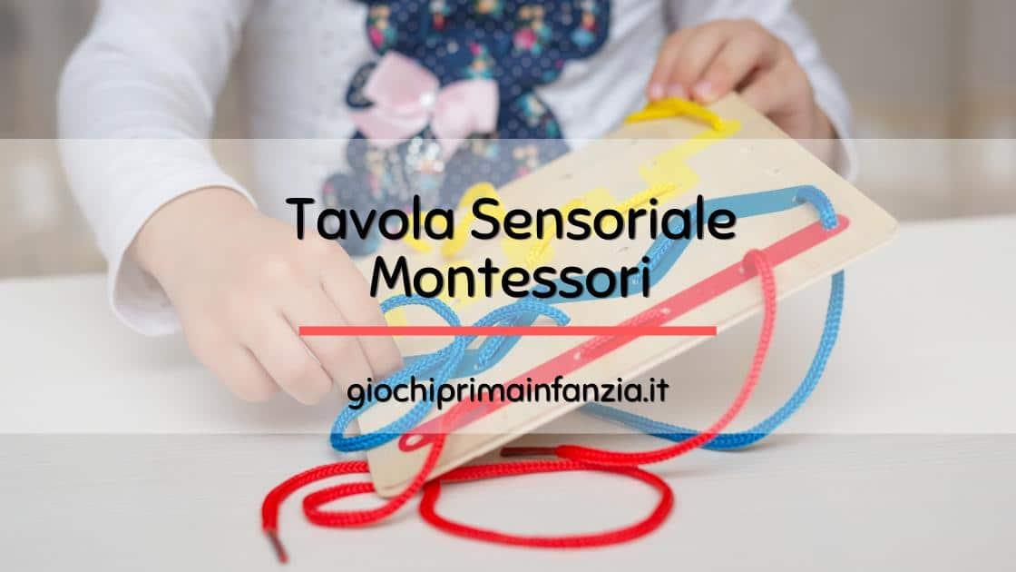 Tavola Sensoriale Montessori: Come Scegliere il Modello più Adatto