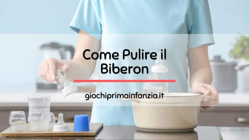 Read more about the article Come Lavare e Sterilizzare il Biberon: Guida ad una Pulizia Accurata