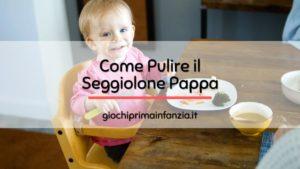 Read more about the article Come Pulire e Sanificare un Seggiolone Pappa: Guida Completa
