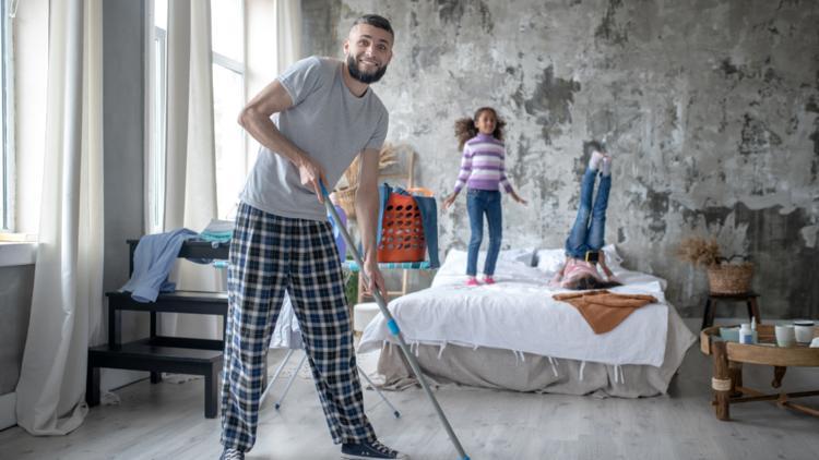 pulire la cameretta dei propri figli